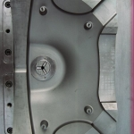 Пресс-форма на корпус руля