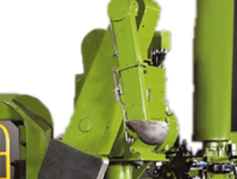 Автоматический заливщик расплавленного алюминия