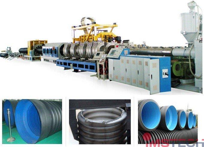 Оборудование для производства гофротрубы из PE/PVC (ПНД/ПВХ)