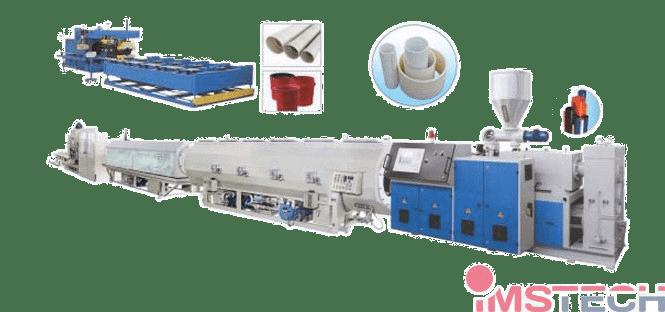 Линия-для-производства-жесткой-гладкостенной-трубы-ПВХ