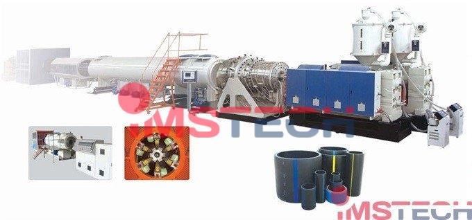 Линии экструзионные для производства труб PP,PE  газо- водоснабжения