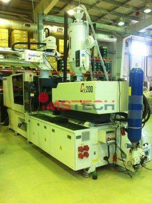 Запуск Тайваньских термопластавтоматов совместно с роботами