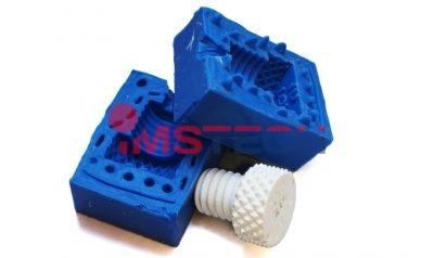 Изготовление пластмассовых деталей в силиконовых формах